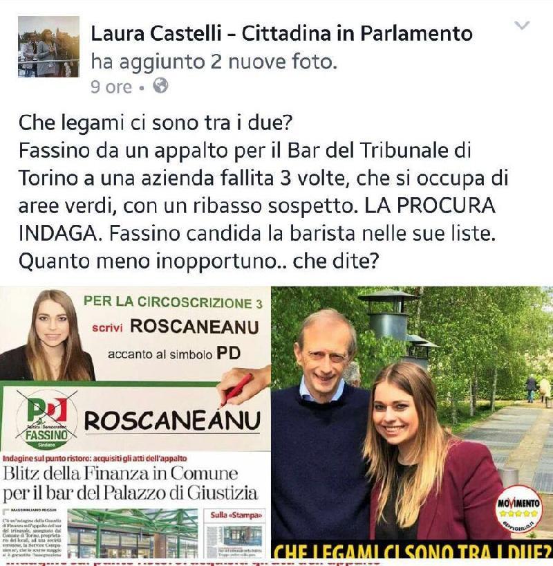 Pil, Castelli: calo colpa del Pd, assurdo imputarlo a nostra manovra