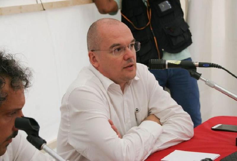 Elezioni, l'esordio di Padoan a Siena